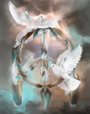Dreams Of Peace By Carol Cavalaris