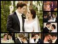 Edward and Bella's wedding