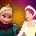 Elsa and Anastasia icon - anastasia icon