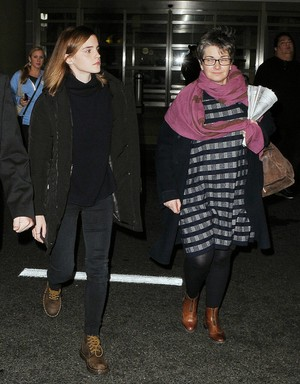 Emma arriving in Washington D.C on Jan.20,2017