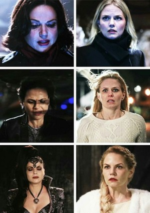 Emma's face when Regina is about to die