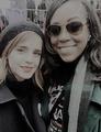 Emma taking selfies at Womens Rally in D.C - emma-watson photo