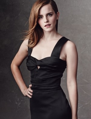 Exclusive outtakes of Emma Watson by Bjorn Iooss