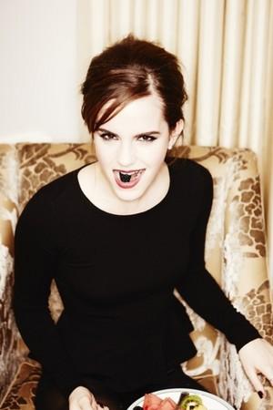 Exclusive outtakes of Emma Watson por Ellen Von Unwerth