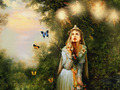 Fairy and Butterflies  - fairies photo
