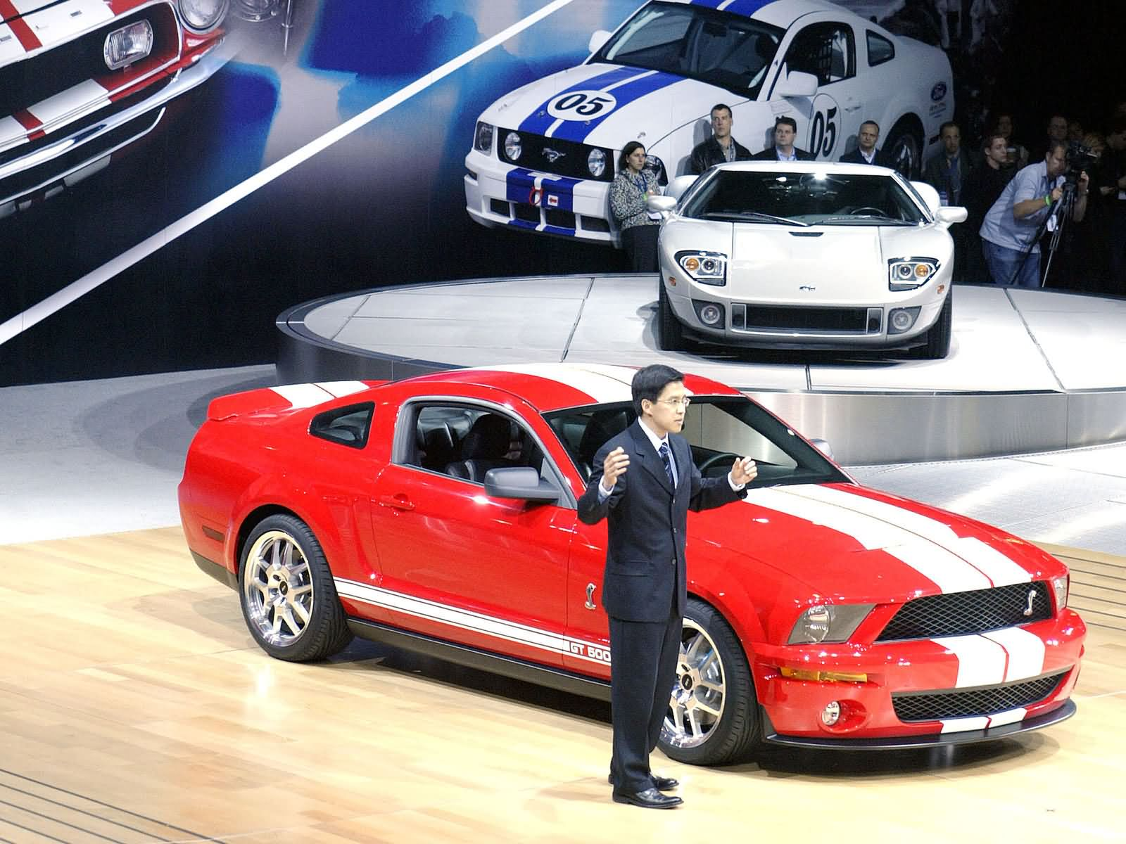 Ford shelby svt cobra gt500 mustang show car 2005 next hottest