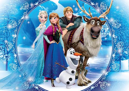 Elsa und Anna Hintergrund called Frozen