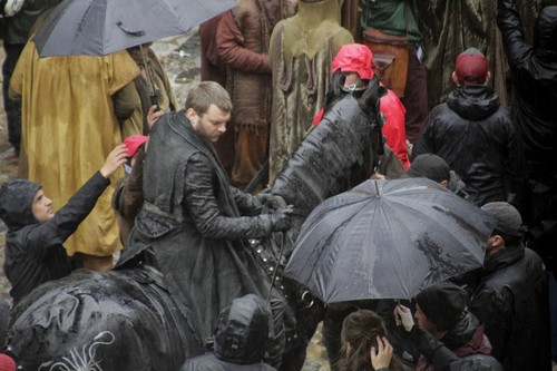 Game of Thrones wallpaper titled Game of Thrones- Season 7- Filming