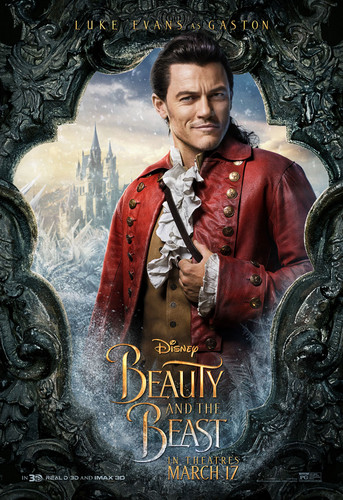 Beauty and the Beast (2017) Обои titled Gaston Poster