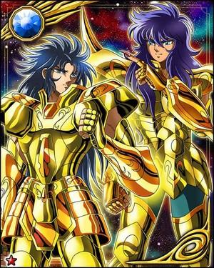 Gemini Kanon and Scorpio Milo
