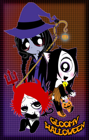 Gloomy Halloween