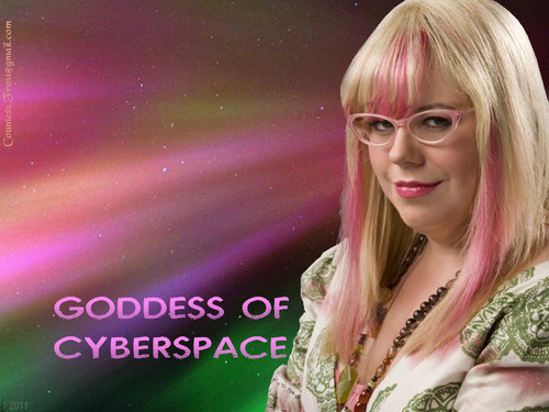 TheCountess 바탕화면 entitled Goddess Of Cyberspace