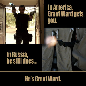 Grant Ward Fact - In America and in Russia