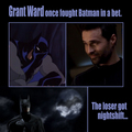 Grant Ward VS Batman - agents-of-shield fan art