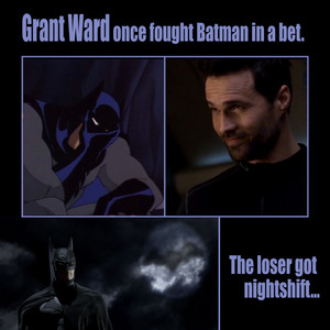 Grant Ward VS batman