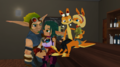 Hanging out Double Date - jak-and-daxter photo