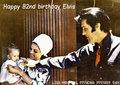 Happy 82nd birthday Elvis <3 - elvis-aaron-presley-and-lisa-marie-presley fan art