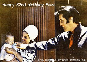 Happy 82nd birthday Elvis <3