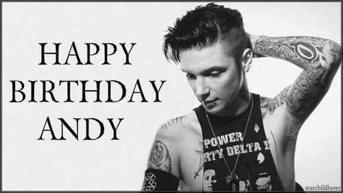 Andy Sixx wallpaper titled Happy Birthday Andy (December 26, 1990)