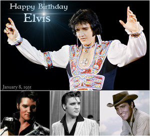 Happy Birthday Elvis (January 8, 1935)