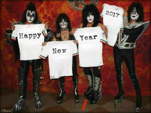 Happy New tahun 2017 (2.0 KISS'es)
