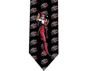 Harley Quinn batman tie 2 detail