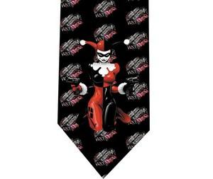 Harley Quinn Batman tie 4 detail