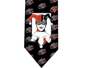 Harley Quinn Batman tie 6 detail