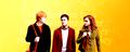 Harry, Hermione and Ron - harry-potter fan art