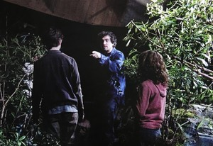 Hermione new bts pics