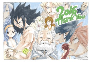 Hiro Mashima--Happy New Year!! 2017