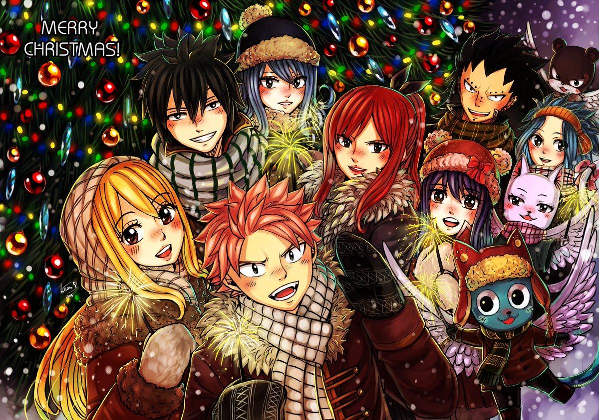 fairy tail fond dcran called hiro mashima merry christmas