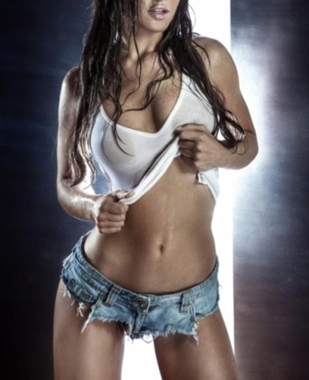 Sexy bikini nude