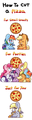 How to Cut a Pizza - my-little-pony-friendship-is-magic fan art