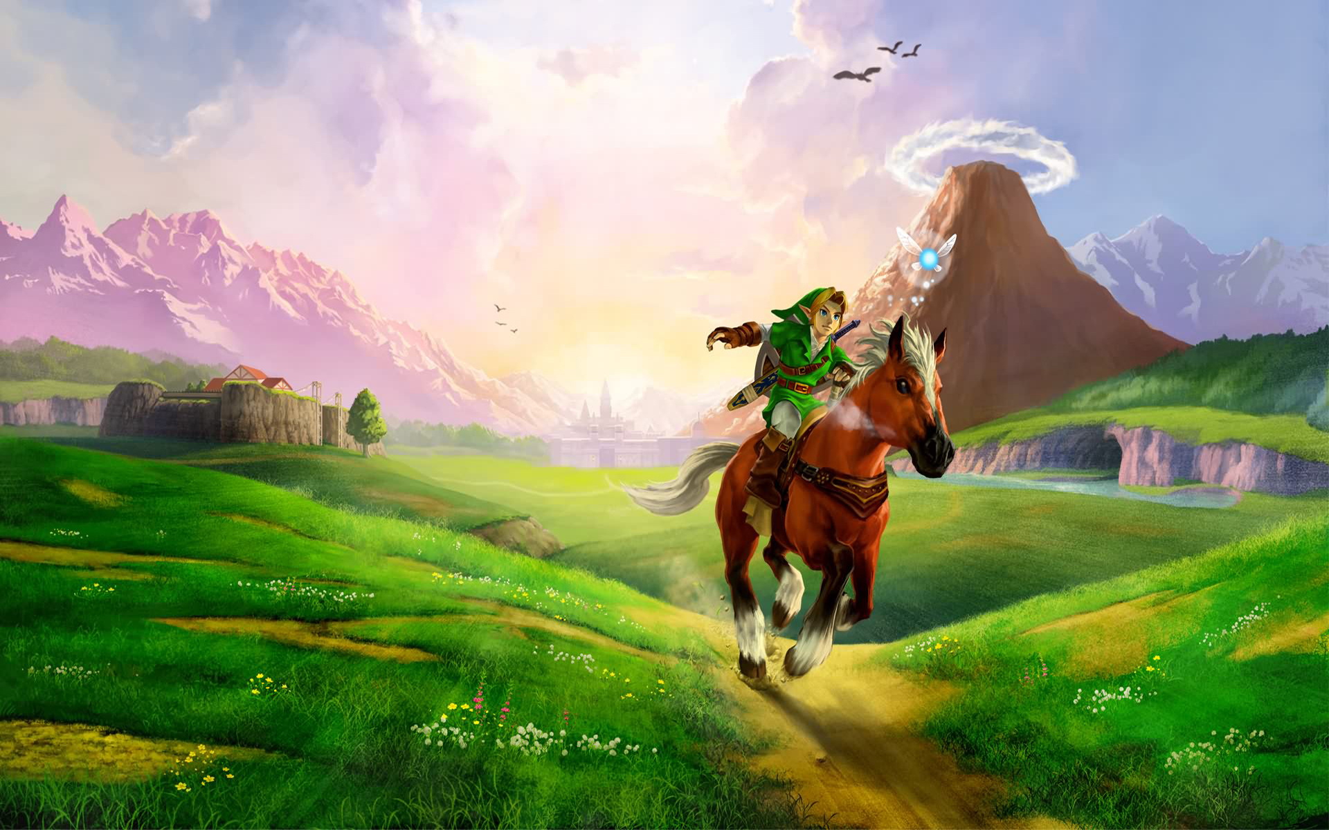the legend of zelda: ocarina of time images hyrule feild hd