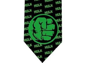 Incredible Hulk tie model 4 detail