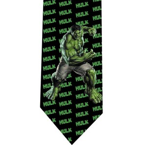 Incredible Hulk tie model 6 detail
