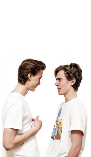 Isak and Even