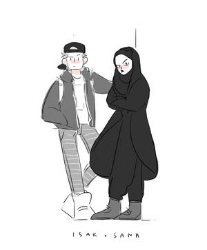 Isak and Sana