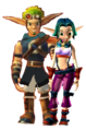 Jak and Keira Together Forever Jak 3 - jak-and-daxter fan art
