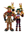Jak x Keira Hagai and Daxter x Tess Ottsel - jak-and-daxter photo