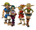 Jak x Keira Hagai and Daxter x Tess Together - jak-and-daxter photo