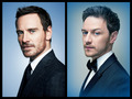James and Michael - james-mcavoy-and-michael-fassbender photo