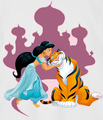 Jasmine and Rajah - princess-jasmine photo