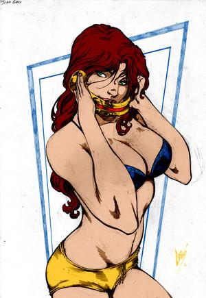Jean Grey por Caiomarcus Art por kenkira
