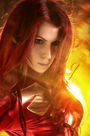 Jean Grey Phoenix Cosplay 3 por elenasamko
