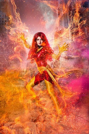 Jean Grey Phoenix Cosplay 6 por shproton