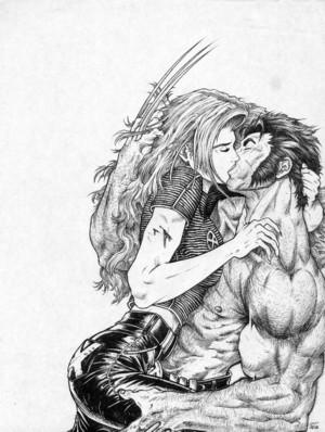 Jean and Logan por EmeraldAbsynth
