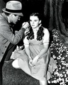 Judy Garland on the Set of Wizard of Oz - the-wizard-of-oz photo
