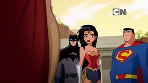 Justice League Action Luthor in Paradise badges